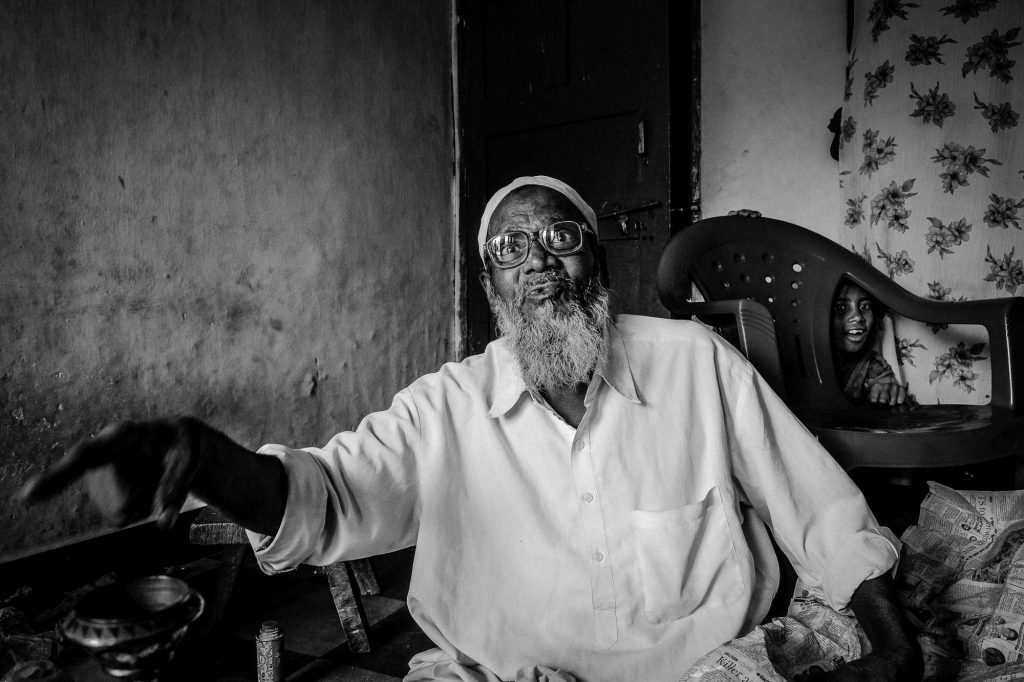 Rashid Quadri, one of the veteran artisan from Bidar